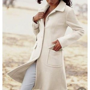 Victoria Secret Moda Cream coat.